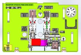 Narzędzie do testu szczelności metodą helowo-wodorową (wersja pojedyncza)