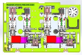 Narzędzie do testu szczelności metodą helowo-wodorową (wersja podwójna)